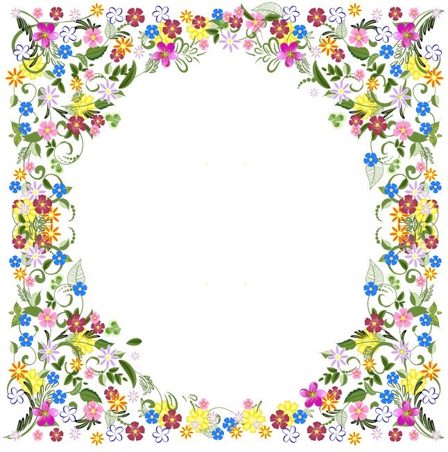flower frame beautiful design vector free download flower frame beautiful design vector