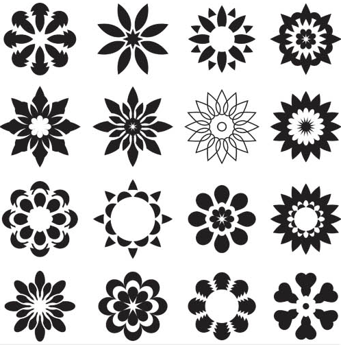 Flowers Templates free Illustration vector