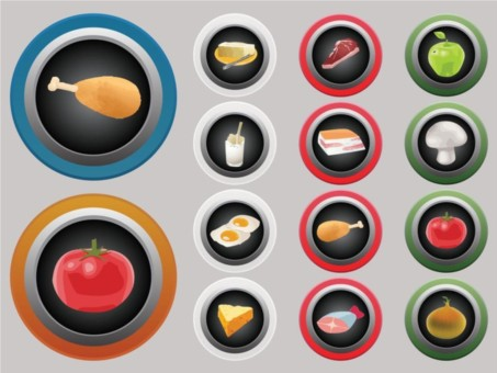 Food Icons Vector vector set