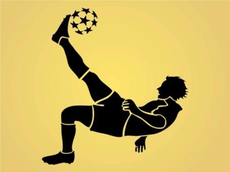 Football Player creative vector