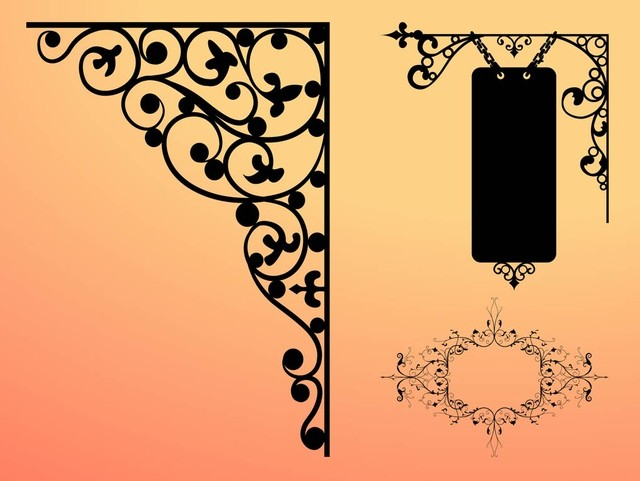 Frames Graphics free vector material