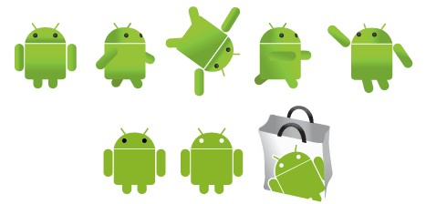 Free Android Logo vector graphics