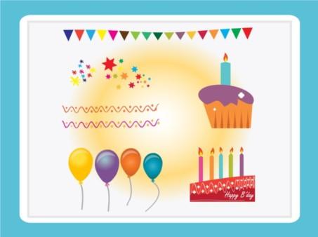 Free Birthday Graphics Illustration vector