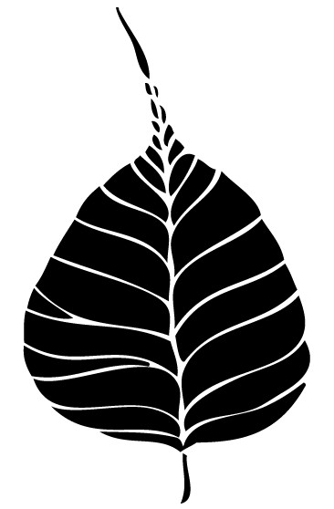 Free Bodhi Leaf Art vector