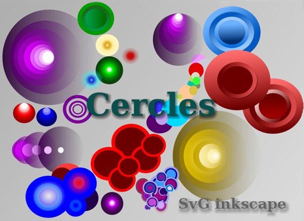 Free Colorful Circles Graphics vector