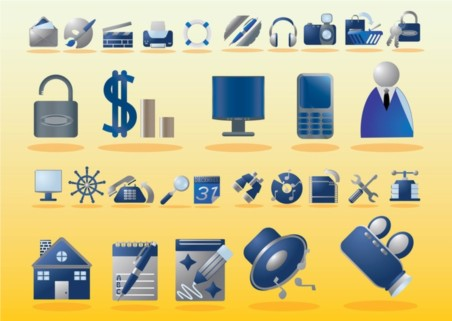 Free Computer Icons vector