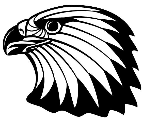 Free Image Eagle Head Clip Art vectors graphic