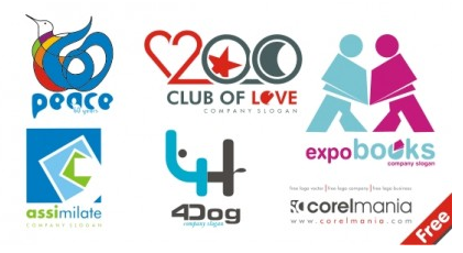 Free Logo set vector