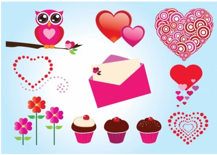 Free Love Graphics Vector vector graphic