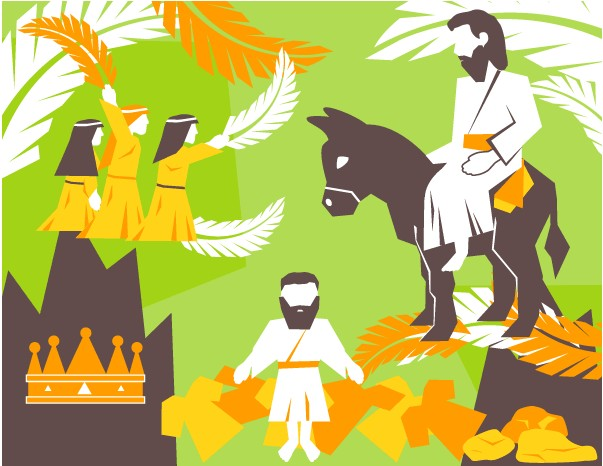 Free Palm Sunday Pack vector