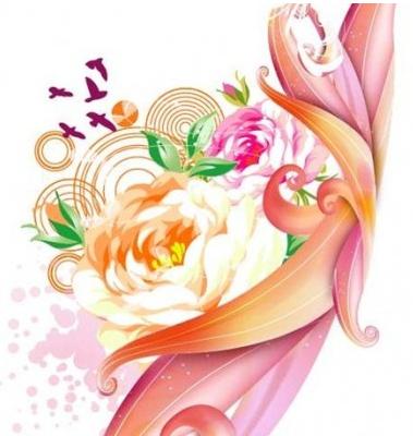 Free Pink Rose Graphic vectors material
