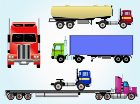 Free Transportation Vectors