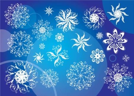 Free Snowflakes vector