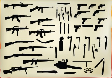 Free Weapon vector