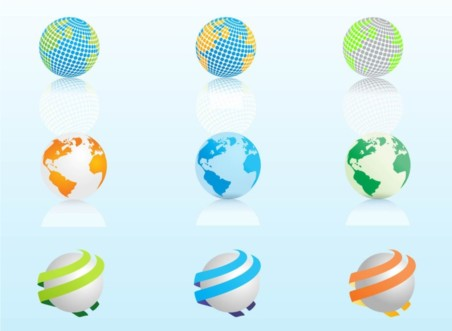 Globe Graphics vector