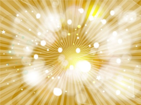 Golden Burst background design vector