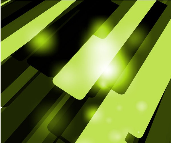 Green Abstract Background Free vector