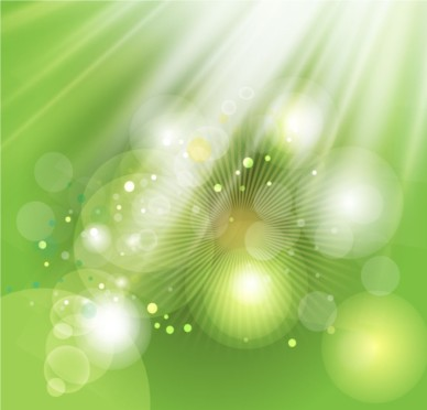 Green Light Background vector graphics