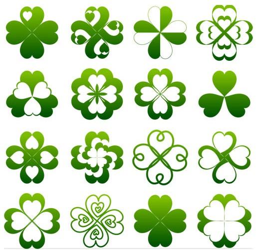 Green Nature Elements vector