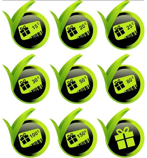 Green Sale Elements vector