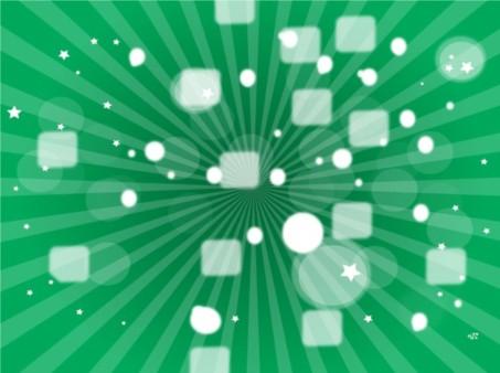 Green Star Burst vectors