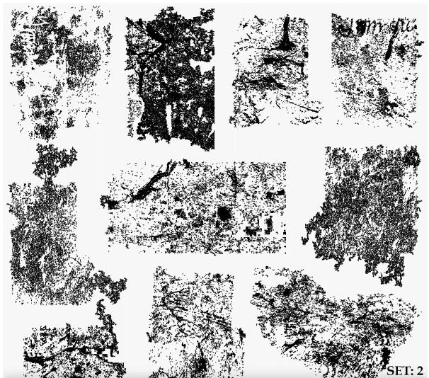 Grunge Texture Illustrator Set 1