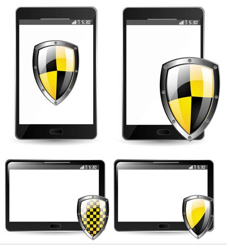 Guard Computers Symbols art vectors