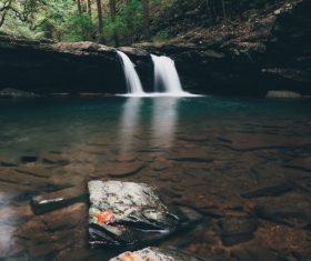 Gurgling brook Stock Photo
