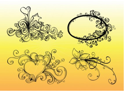 Hand Drawn Graphics vector