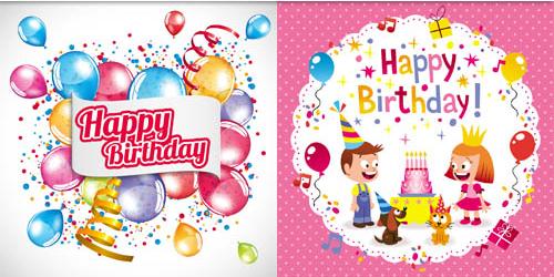 Happy Birthday 2 vector graphics