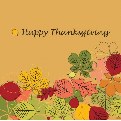 Happy Thanksgiving Illustration vector graphic