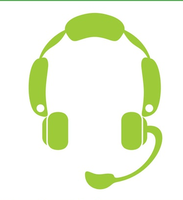 Headset Icon Graphics vector graphics