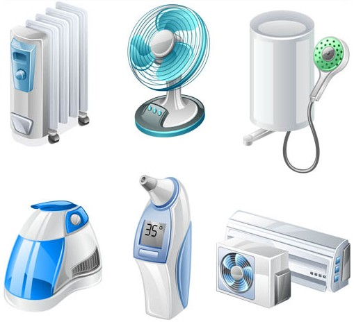 Home Appliances Vector vector