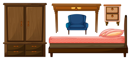 Home Furniture 3 vector