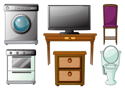 Home Furniture 5 vector
