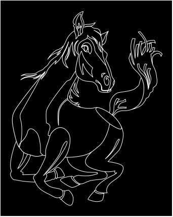 Horse Free vectors