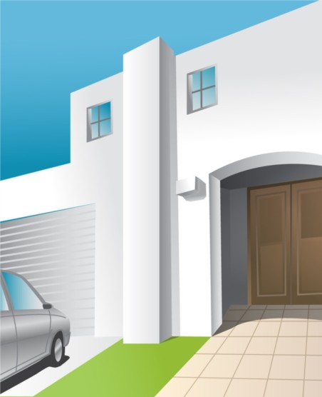 House Front vector