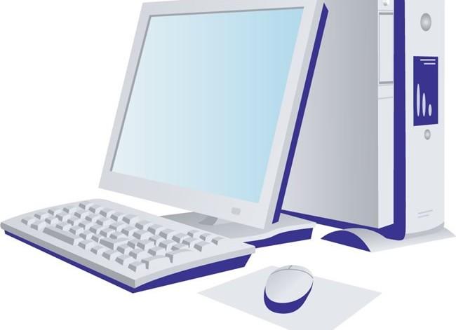 IT office computer design technology vector