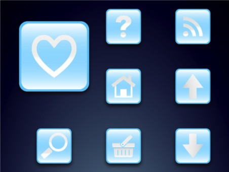 Icon Set vectors graphics