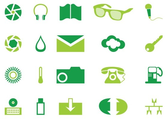 Icons graphics vector