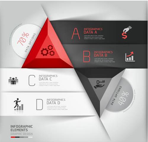 Infographics Backgrounds 22 vector