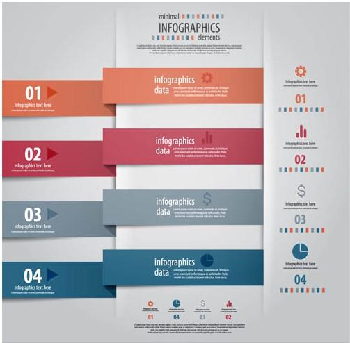 Infographics Backgrounds 8 vector