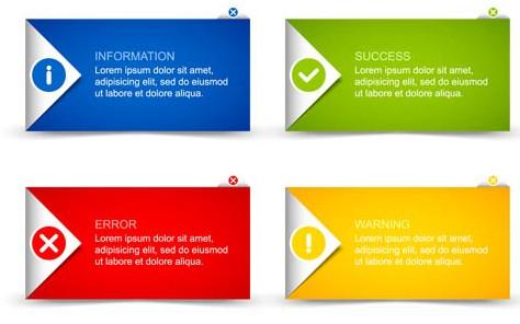 Information Elements art vectors graphics