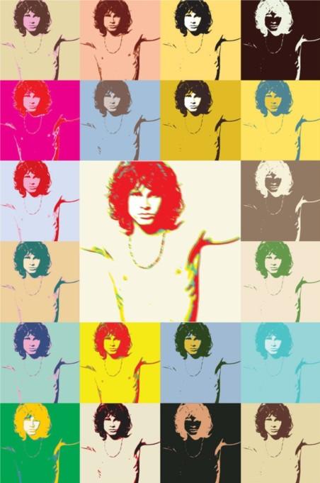 Jim Morrison Pop vector design