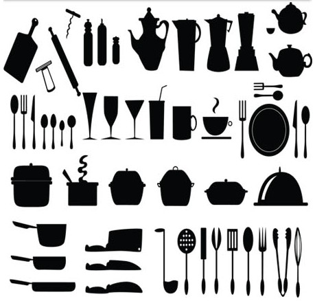 Kitchen Appliances Templates Vector Material Free Download