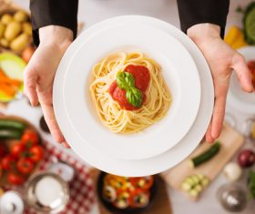 Learn to make pasta Stock Photo 04