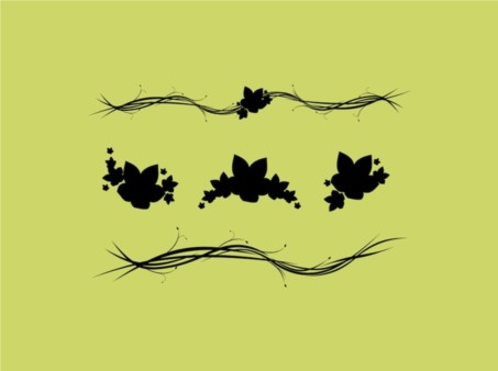 Leaves Stock Images vector