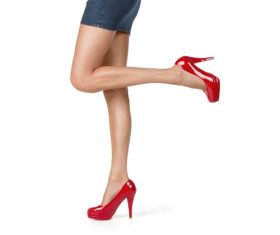 Legs with trendy shoes Stock Photo 08
