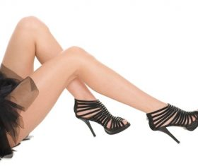 Legs with trendy shoes Stock Photo 09