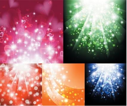 Light background design vectors